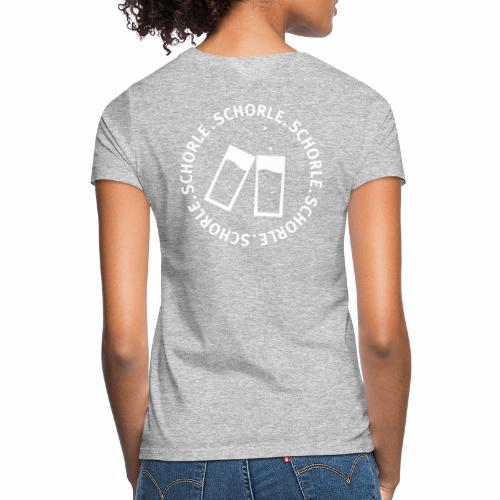 Schorle weiss - Frauen T-Shirt