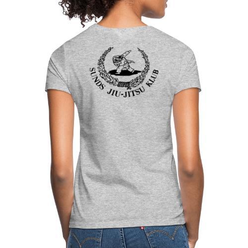 logo bagpå - Dame-T-shirt