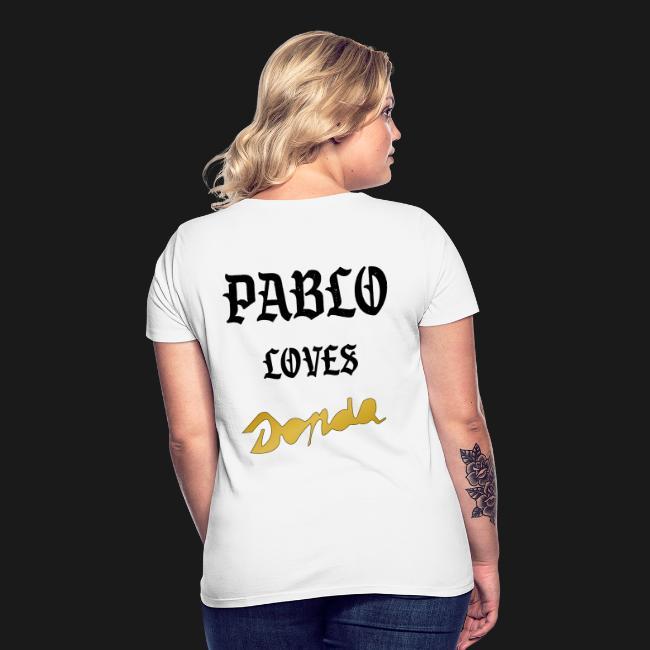 Pablo loves Donda