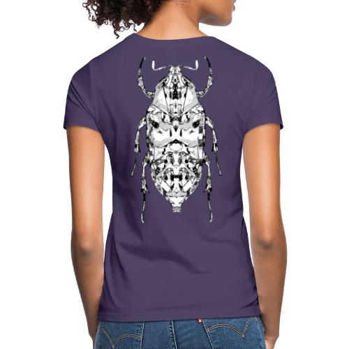 Insect on the back zwart wit - Vrouwen T-shirt