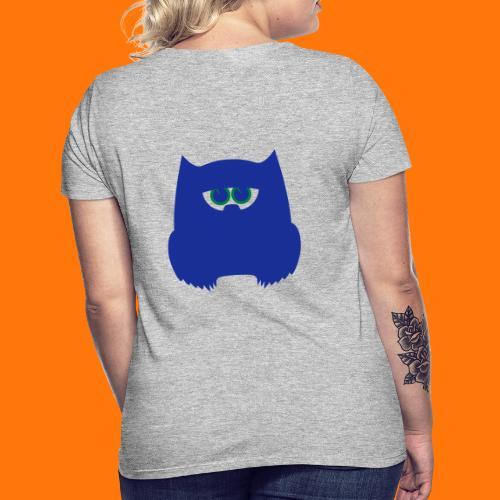 grüne Eule - Frauen T-Shirt