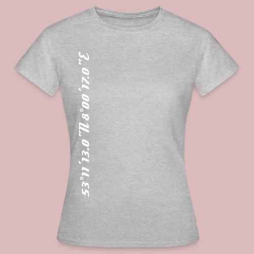 Koordinaten BZ Wels - Frauen T-Shirt