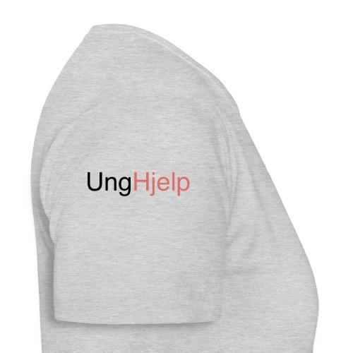 unghjelp sort - T-skjorte for kvinner