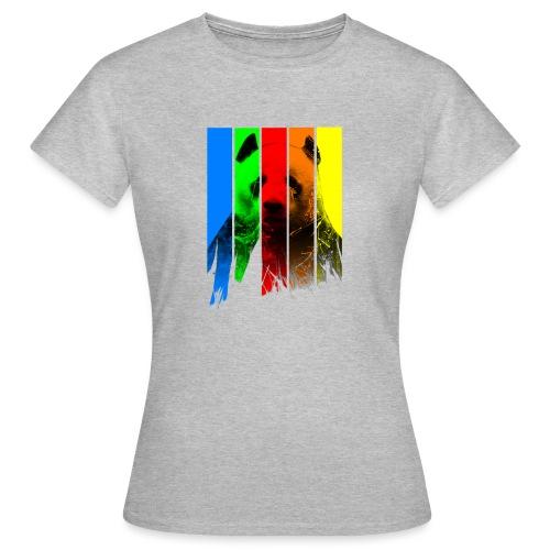p a n d a - Frauen T-Shirt