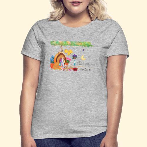 Tout à coup, le temps a considérablement ralenti - T-shirt Femme