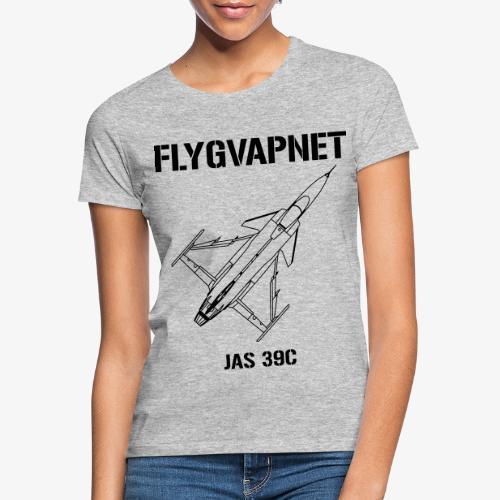 Flygvapnet JAS 39C - T-shirt dam