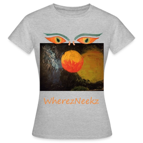 nico-transparent-8bit - Women's T-Shirt