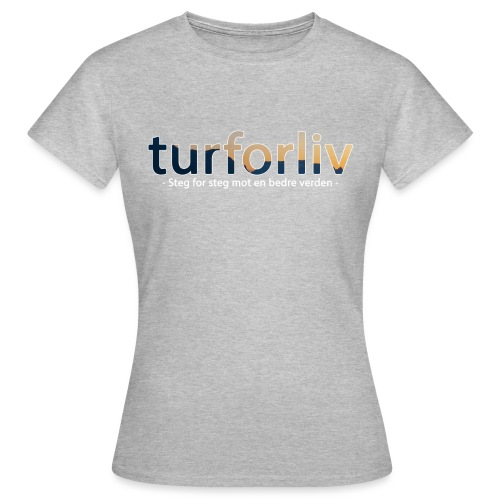 turforliv - T-skjorte for kvinner