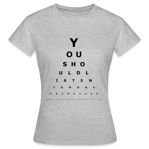 Drum & Bass Eye Test - Women's T-Shirt