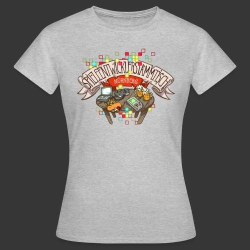 Spieleentwickler-Stammtisch Nürnberg - Frauen T-Shirt