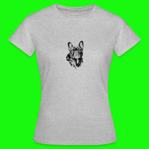 Small_Dog-_-_Bryst_- - Dame-T-shirt