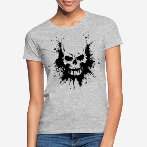 skull heavy metal - Frauen T-Shirt