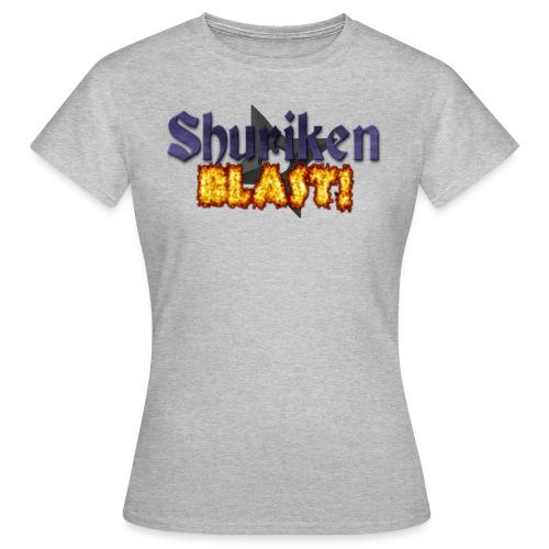 shurikenBlast T shirt design png - Women's T-Shirt