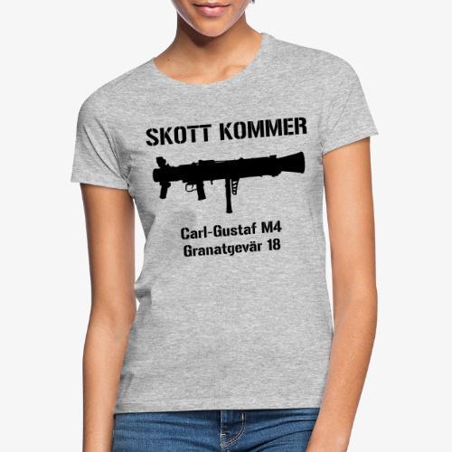 SKOTT KOMMER - KLART BAKÅT - SWE Flag - T-shirt dam