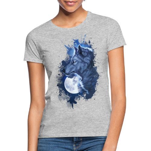 wolf moon - Camiseta mujer