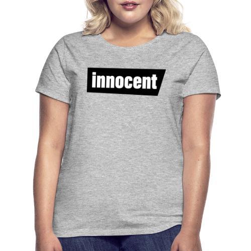 Innocent Black-Edition - Frauen T-Shirt