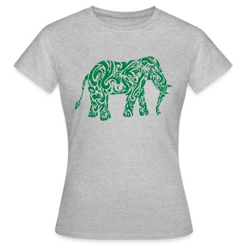 Tribal Eléphant - T-shirt Femme