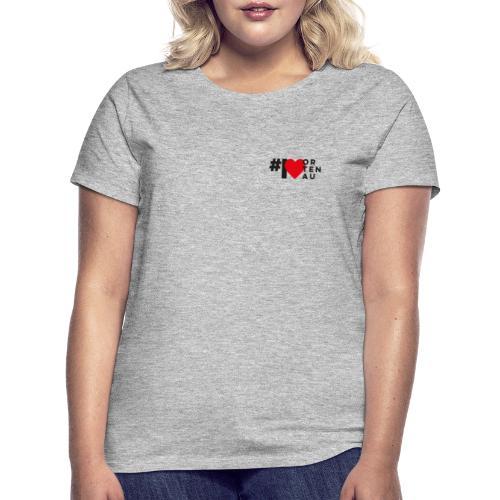 # I LOVE ORTENAU - Frauen T-Shirt