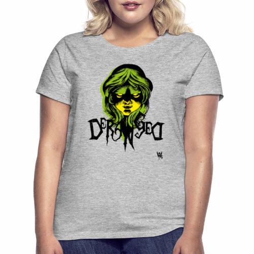 DerangeD - Tattoo Metal Horror Vampire - Dame-T-shirt