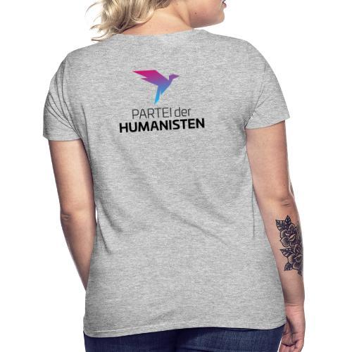 Statement Logo beidseitig - Frauen T-Shirt