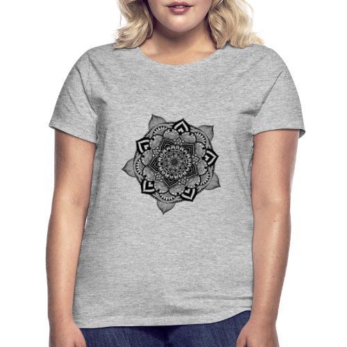 mandala fiore di loto - Maglietta da donna