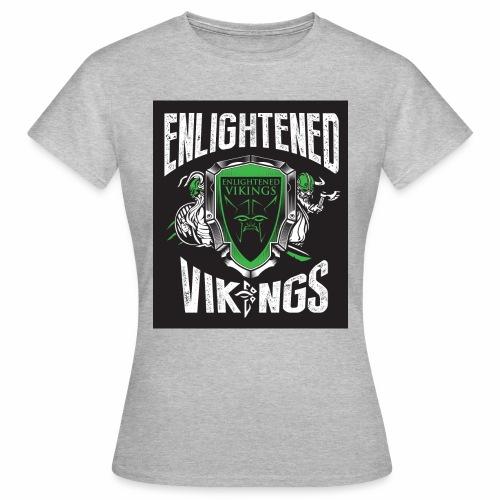 Enlightend Vikings - T-skjorte for kvinner