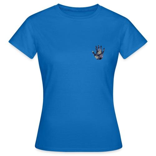 Exotic Flower Hand - Dame-T-shirt