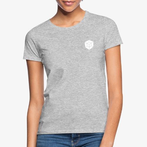 WHITE // LOGO ONLY - Women's T-Shirt
