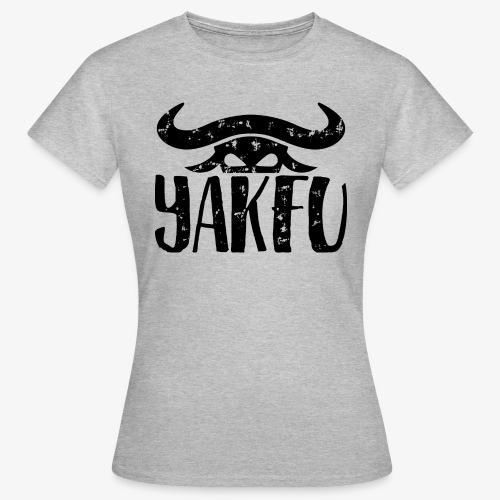 YakFu (Black) - Frauen T-Shirt
