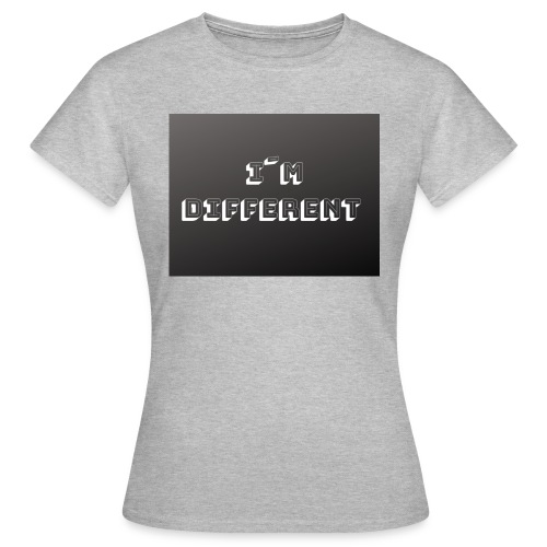 yo soy diferente - Camiseta mujer