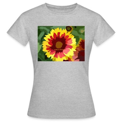 Flor - Camiseta mujer