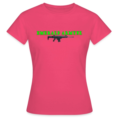 EMERALDARMYNL LETTERS! - Vrouwen T-shirt