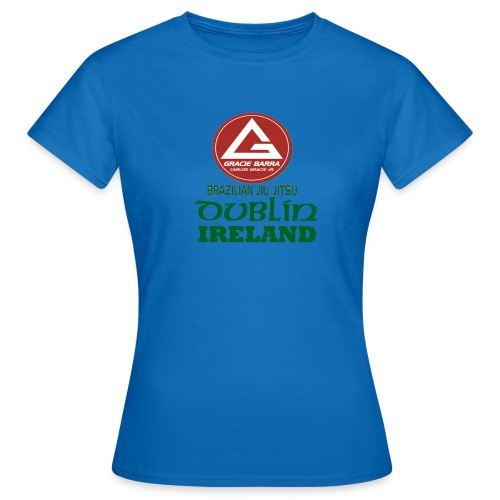 Gracie Barra Dublin Gaelic Celtic Font PNG - Women's T-Shirt