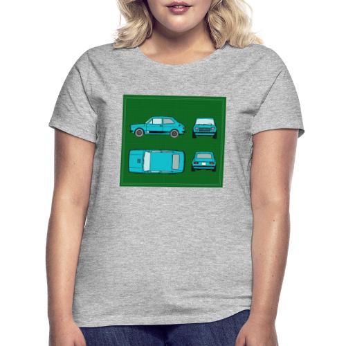 127 azul - Camiseta mujer