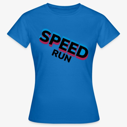Speedrun - Vrouwen T-shirt