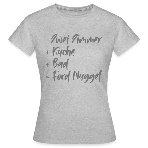 Zwei Zimmer - Frauen T-Shirt