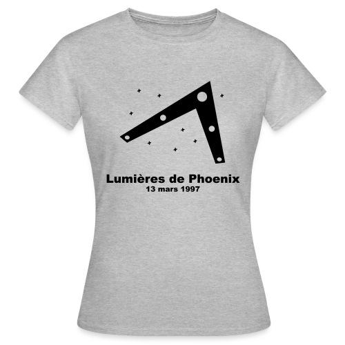OVNI Lumieres de Phoenix - T-shirt Femme