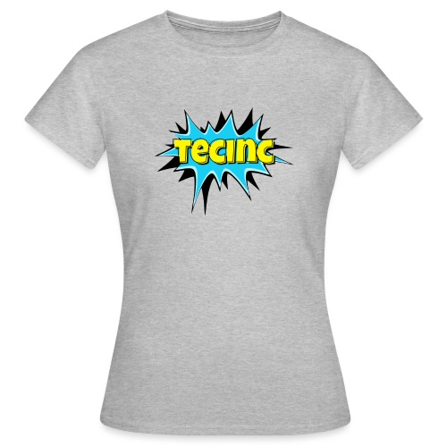 Cartoon logo - Dame-T-shirt