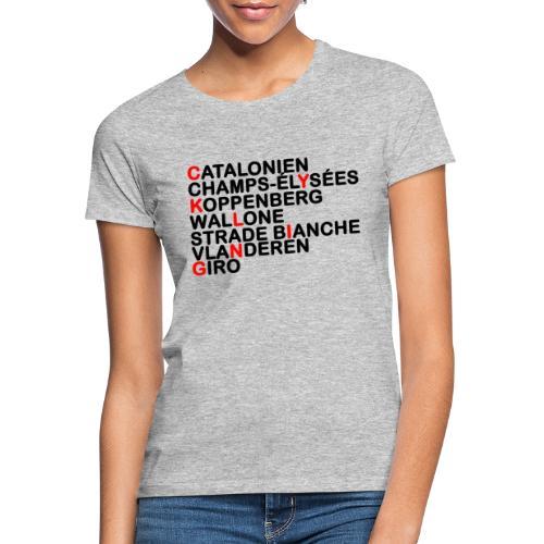 CYKLING - Dame-T-shirt