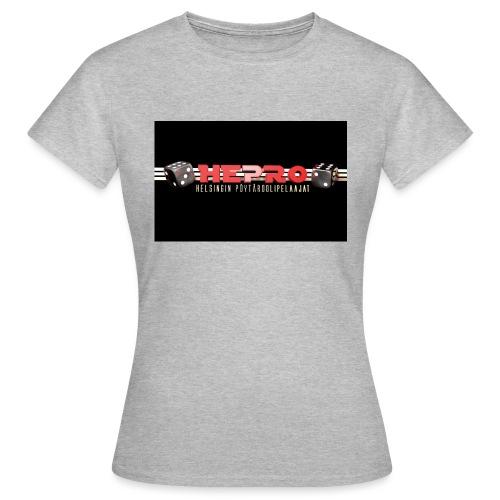 hepro logo - Naisten t-paita