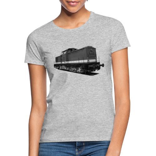 Lokomotive V 100 Diesel Deutsche Reichsbahn DDR - Frauen T-Shirt