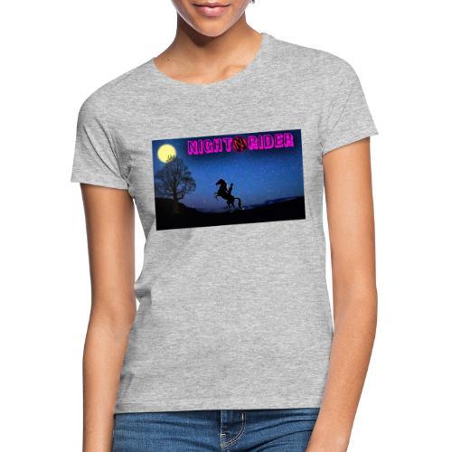 nightrider merch - Dame-T-shirt