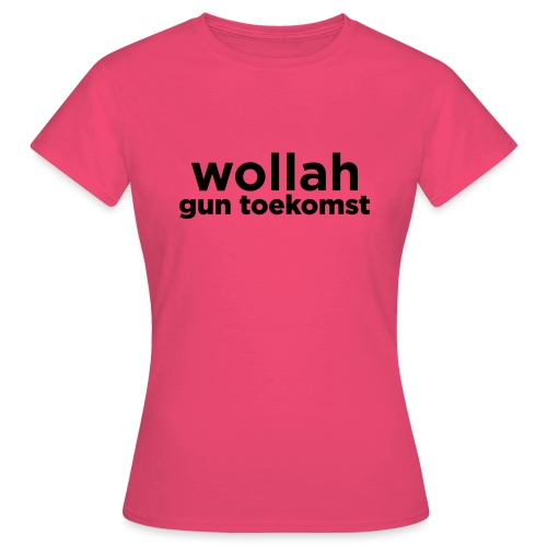 Wollah Gun Toekomst - Vrouwen T-shirt
