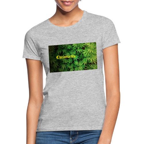 Christiania Hash Logo - Dame-T-shirt