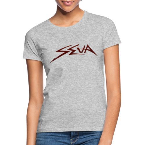 SEUA logo Speedy red - T-shirt dam