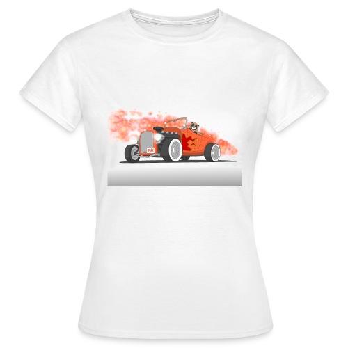 Hot Rod with flames - Maglietta da donna