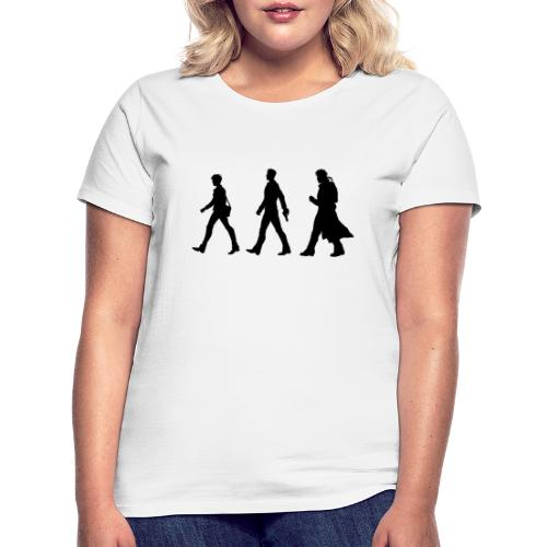 Black Title and Character design - Women's T-Shirt