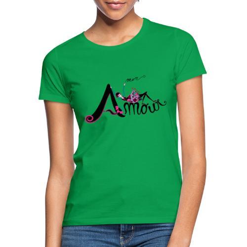 Love Mon Amour - Maglietta da donna