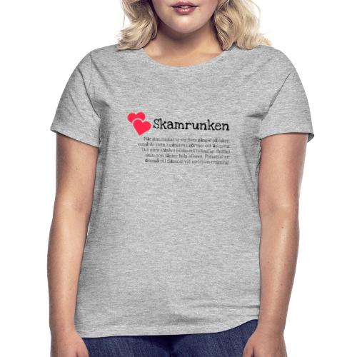 Skamrunken - T-shirt dam