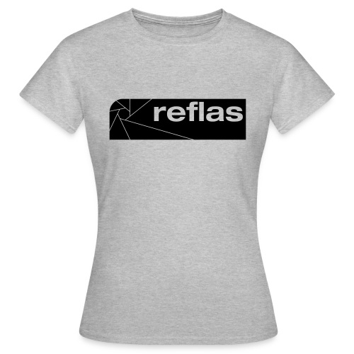 Reflas Clothing Black/Gray - Maglietta da donna